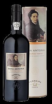 Köstlichalkoholisches - Ferreira »Dona Antonia« Reserva Tawny Portwein 20 vol in Geschenkverpackung - Onlineshop Ludwig von Kapff