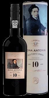 Köstlichalkoholisches - Ferreira »Dona Antonia« 10 Year Old Tawny Portwein 20 vol in Geschenkverpackung - Onlineshop Ludwig von Kapff