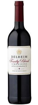 Köstlichalkoholisches - 2016 Delheim Family Blend Red Stellenbosch - Onlineshop Ludwig von Kapff