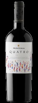 Köstlichalkoholisches - 2019 MontGras Quatro Colchagua Valley - Onlineshop Ludwig von Kapff