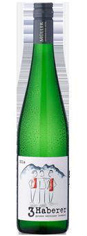 »3 Haberer« Grüner Veltliner Qualitätswein aus Österreich 2017