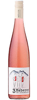»3 Haberer« Rosé Qualitätswein aus Österreich 2017