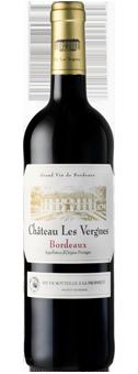 Château Les Vergnes Rouge Bordeaux AOC 2015