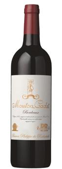 Rothschild Mouton Cadet Rouge Vintage Baron Phi...