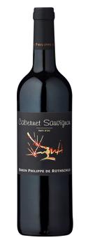 Baron Philippe de Rothschild Les Cépages Cabernet Sauvignon Vin de Pays d´Oc 2017