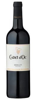 Rothschild Cadet d´Oc Merlot Baron Philippe de Rothschild, Vin de Pays d´Oc 2017