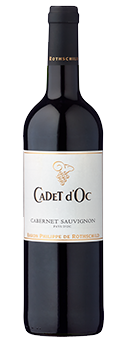 Rothschild Cadet d'Oc Cabernet Sauvignon Baron Philippe de Rothschild, Vin de Pays d'Oc 2016