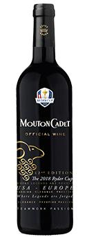 Rothschild Mouton Cadet Rouge - Ryder Cup Edition Baron Philippe de Rothschild, Bordeaux AOC 2016