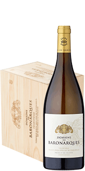 Köstlichalkoholisches - 2016 Domaine de Baronarques Grand Vin Blanc Limoux AOC Ab 6 Flaschen in der Holzkiste - Onlineshop Ludwig von Kapff