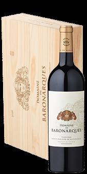 Köstlichalkoholisches - 2016 Domaine de Baronarques Rouge Limoux AOC ab 6 Flaschen in der Holzkiste - Onlineshop Ludwig von Kapff