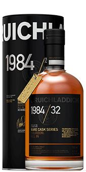 Köstlichalkoholisches - 1984 Bruichladdich Old Rare 32 years Single Malt Scotch Whisky 43,7 - Onlineshop Ludwig von Kapff