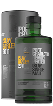 Köstlichalkoholisches - 2011 Port Charlotte Islay Barley Scotch Single Malt Whisky, 50 vol. - Onlineshop Ludwig von Kapff