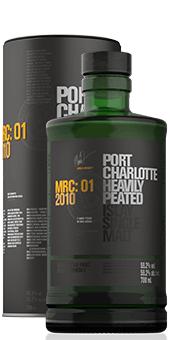 Köstlichalkoholisches - 2010 Port Charlotte MRC 01 Scotch Single Malt Whisky, 59,2 vol. - Onlineshop Ludwig von Kapff