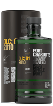 Köstlichalkoholisches - 2010 Port Charlotte OLC 01 2010 Heavily Peated Islay Single Malt Scotch Whisky - Onlineshop Ludwig von Kapff