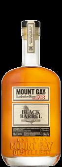 Köstlichalkoholisches - Mount Gay Black Barrel Small Batch Handcrafted Rum 43 vol - Onlineshop Ludwig von Kapff