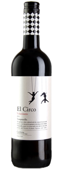 El Circo Tempranillo Cariñena DO 2016