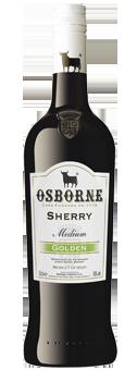 Osborne Sherry Golden Medium Dominacion de Origen Jerez Sherry