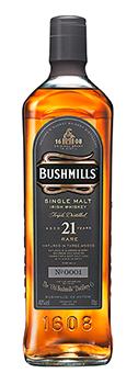 Bushmills 21 Years Whisky Irish Whiskey