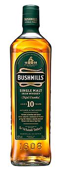 Bushmills 10 Years Whisky Irish Whiskey