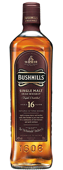 Köstlichalkoholisches - Bushmills 16 Years Old Whiskey Single Malt Irish Whiskey 40 vol in Geschenkverpackung - Onlineshop Ludwig von Kapff