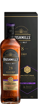 Köstlichalkoholisches - Bushmills 28 Years Old Malaga Finish Irish Single Malt 53,6 vol - Onlineshop Ludwig von Kapff