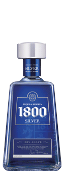 1800 Silver 38 vol 100 Agave Tequila