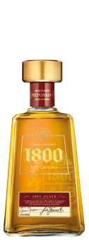 1800 Tequila Reposado 38 vol 100 Agave Tequila
