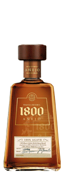 Tequila 1800 Anejo 38 Vol 100 Agave Tequila