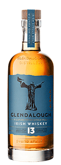 Glendalough 13 Year Old Single Malt Mizunara Oak Finish Irish Whiskey 46 vol