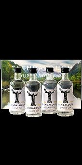 Köstlichalkoholisches - Glendalough Gin Set 4 Flaschen á 0,05 L - Onlineshop Ludwig von Kapff