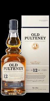Köstlichalkoholisches - Old Pulteney 12 Years Old Whisky Single Malt Scotch Whisky 40 vol 0,05 L - Onlineshop Ludwig von Kapff