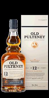 Köstlichalkoholisches - Old Pulteney 12 Years Old Whisky Single Malt Scotch Whisky 40 vol in Geschenkverpackung - Onlineshop Ludwig von Kapff