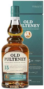Köstlichalkoholisches - Old Pulteney 15 Years Old Whisky Single Malt Scotch Whisky 46 vol in Geschenkverpackung - Onlineshop Ludwig von Kapff