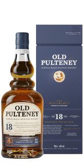 Köstlichalkoholisches - Old Pulteney 18 Years Old Whisky Single Malt Scotch Whisky 46 vol in Geschenkverpackung - Onlineshop Ludwig von Kapff