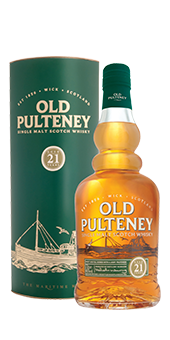 Old Pulteney 21 Years Old Whisky Single Malt Sc...