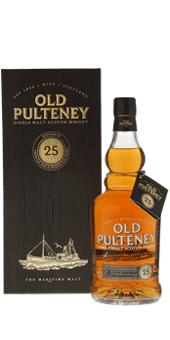 Köstlichalkoholisches - Old Pulteney 25 Years Old Whisky Single Malt Scotch Whisky 46 vol in Geschenkverpackung - Onlineshop Ludwig von Kapff