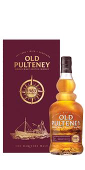 Köstlichalkoholisches - 1983 Old Pulteney 1983 Vintage Whisky Single Malt Scotch Whisky 46 vol in Geschenkverpackung - Onlineshop Ludwig von Kapff