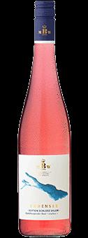 Köstlichalkoholisches - 2019 Markgräflich Badisches Weinhaus Bodensee »Edition Schloss Salem« Spätburgunder Rosé trocken, Baden - Onlineshop Ludwig von Kapff