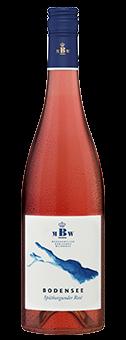 Köstlichalkoholisches - 2019 Markgräflich Badisches Weinhaus Bodensee Spätburgunder Rosé trocken, Baden - Onlineshop Ludwig von Kapff