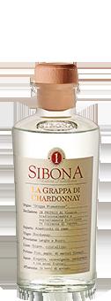 Köstlichalkoholisches - Sibona Grappa di Chardonnay 40 vol - Onlineshop Ludwig von Kapff