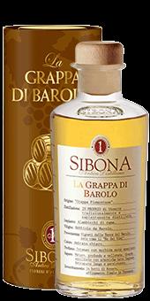 Köstlichalkoholisches - Sibona Grappa di Barolo 40 vol - Onlineshop Ludwig von Kapff