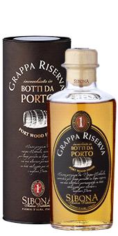 Köstlichalkoholisches - Sibona Grappa Riserva Botti da Porto 40 vol - Onlineshop Ludwig von Kapff