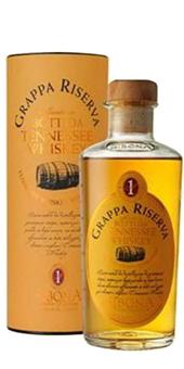 Köstlichalkoholisches - Sibona Grappa Riserva Botti da Tenessee Whiskey 40 vol - Onlineshop Ludwig von Kapff