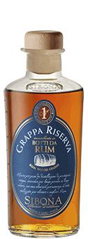 Köstlichalkoholisches - Sibona Grappa Riserva Botti da Rum 40 vol - Onlineshop Ludwig von Kapff