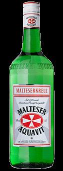 Köstlichalkoholisches - Malteserkreuz Aquavit 40 vol 1L - Onlineshop Ludwig von Kapff