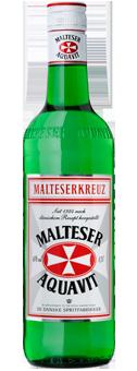 Köstlichalkoholisches - Malteserkreuz Aquavit 40 vol - Onlineshop Ludwig von Kapff