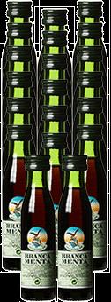 Köstlichalkoholisches - Brancamenta Kräuterlikör 28 vol 0,02 L 20er Pack - Onlineshop Ludwig von Kapff