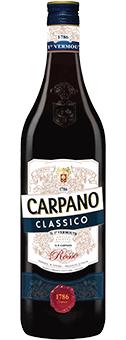 Köstlichalkoholisches - Carpano Classico Vermouth 16 vol 1 L - Onlineshop Ludwig von Kapff