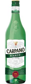 Köstlichalkoholisches - Carpano Bianco Vermouth 14,9 vol 1 L - Onlineshop Ludwig von Kapff