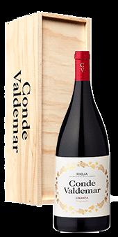 Conde Valdemar Crianza in der Jeroboam Rioja Doca 5,0 Literflasche 2015